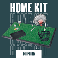 Country Club International Home Golf Chipping Practice Package
