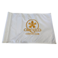 CCI Embroidered Custom Logo Regulation Golf Flag