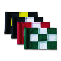 Checkered Junior Practice Green Golf Flag
