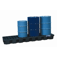 PBA Safety 4 Drum Inline Storage Pallet