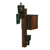 Country Club International Timber Mounting Post