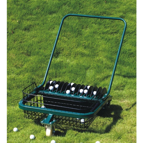 Greenjoy Golf Hand Push Driving Range Ball Picker